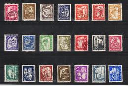 1960 -  Serie Courante  Mi No 1869/1889 Et Yv No 1690/1709 - 1948-.... Republiken