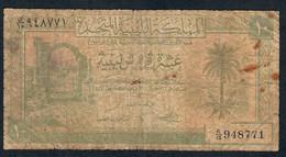 LIBYA P6 10 PIASTRES 1951   FINE - Libye