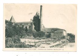 Le Poiré-sur-Velluire-Château Du Châtelier Barlot--(B.8709) - Autres Communes