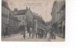 La Haute-Saône Illustrée -  VESOUL - Place Du Centre (carte Abimée) - Vesoul