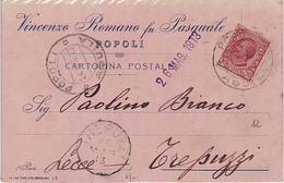 8164 AQUILA POPOLI ROMANO X TREPUZZI - 1900-44 Vittorio Emanuele III