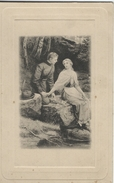 Devotion Card. Written In Denmark 1902.   S-3365 - Devotion Images