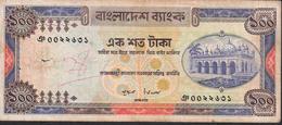 BANGLADESH P24 100 TAKA 1977 FINE - Bangladesh