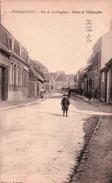 CPA 59 WORMHOUDT Rue De LEDRINGBEM Postes Et Télégrphes  Animé - Wormhout