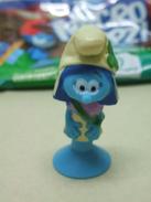 Figurine Micro Popz! U Micropopz Schtroumpfs : SCHTROUMPF TEMPETE Schtroumpfette - Schtroumpfs