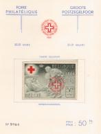 Belgium PR 044**  Croix Rouge  MNH - Belgique