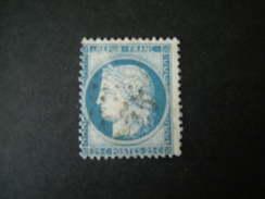 1871 -  Ceres N. 60 III Type, 25 C. Bleu  Obl., TB - 1871-1875 Ceres