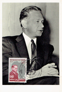 """CM Du Timbre Du Congo """"Hommage à Dag Hammarskjöld"""", Leopoldville, 20/1/62 - Dag Hammarskjöld"""