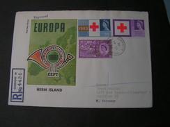 GB Guernsey Europa Red Cross Marken  Cv. 1965 See Back Side Herm Islands Stamps - Guernsey