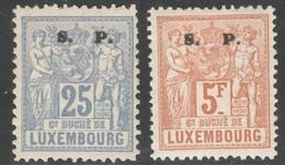 Luxemburg Yvert/Prifix Service 59, 65* TB Sans Défaut Cote EUR 47,50 (numéro Du Lot 149OL)