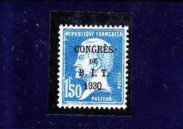 FRANCE - 1930 - */MLH - BIT CONGRES - Mi 250   Yv 265 - France