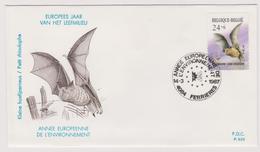 Enveloppe Cover Brief FDC 820 2245 Rapace Petit Rhinolophe Ferrières - FDC