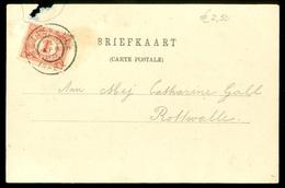 NEDERLAND POSTKAART Uit 1906  * Gelopen Van MARRUM Naar ROTTEVALLE (10.622r) - Periode 1891-1948 (Wilhelmina)