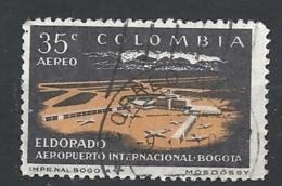 COLOMBIA 1960 Airmail - Inauguration Of Eldorado Airport In Bogota USED - Colombie