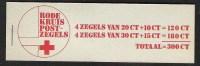 NEDERLAND Privé-postzegelboekje RODE KRUIS 1972 - Carnets Et Roulettes
