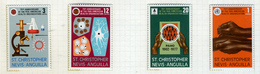 1977 - ST. CHRISTOPHER, NEVIS & ANGUILLA  - Mi. Nr. 335/338 - NH - (CW2427.42) - St.Kitts E Nevis ( 1983-...)