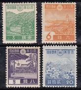 Japon 1937-1940 N° Y&T : 264,266,268 Et 272 *