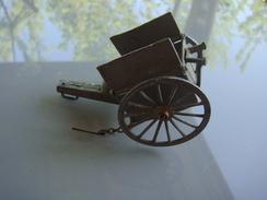 Charette Militaire  Cantine Fer Plomp - Toy Memorabilia