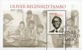 South Africa - 2015 Oliver Tambo MS (o) - Afrique Du Sud (1961-...)