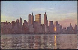 United States New York 1968 / Panorama / View Of Lower Manhattan / Wall Street - Manhattan
