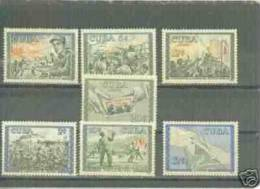 CUBA/KUBA 1960 PRIMER ANIVERSARIO DE LA RIVOLUCION SET MNH - Cuba