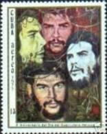 CUBA/KUBA 1977    X ANIVERSARIO DEL DIA DEL GERRILERO HEROICO CHE GUEVARA MNH - Cuba