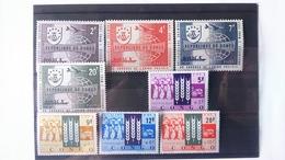 Congo Belge: Timbre Numéro 473/76+477/80 état ** - République Du Congo (1960-64)