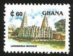 Ghana 1991 Larabanga Mosque MNH - Ghana (1957-...)