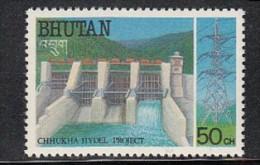 BHUTAN 1988, Chhukha Hydroelectric Power Project,, 1 Value ,   MNH(**) - Bhutan