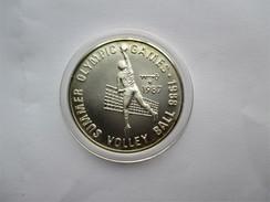 Afghanistan, 500 Afghanis, 1987 Volleyball. 0,9990 % Silver - Afghanistan