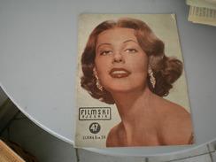 Actors Magazine Filmski Vjesnik 1953 - Books, Magazines, Comics
