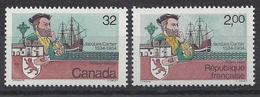 1984 - EMISSION COMMUNE - FRANCE CANADA - JACQUES CARTIER - Emissions Communes