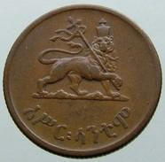 1944 - 10 Santim (Assir Santeem - አሥር ፡ ሳንቲሞ) - KM# 34 - Ethiopia
