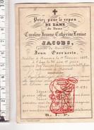 DP Foto 1862 Caroline Jeanne C.L. Jacobs + Antwerpen Anvers 36j. X Jean Everaerts Bankier Politicus Grafmonument Mortsel - Images Religieuses
