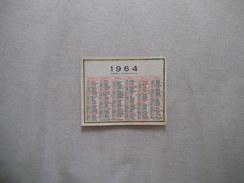 1964 ANNEE BISSEXTILE - Calendriers