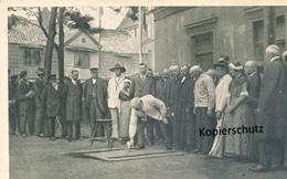 AK Helgoland, Grundsteinlegung, Jacob Andresen Siemens Denkmal - Helgoland