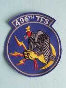 496th TFS ( Details - Zie Foto´s Voor En Achter ) !! - Ecussons Tissu