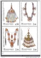 2007. Tajikistan, Women Jewerly, 4v, Mint/** - Tadschikistan