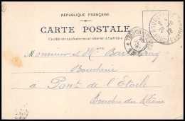 4747 Carte Postale (postcard) Bouches Du Rhone Roquevaire 1918 Pour Pont-de-l'Étoile - 1877-1920: Période Semi Moderne