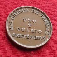 Panama 1. 1/4 Centesimo 1953 - Panama