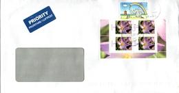 Auslands - Brief Von 26603 Aurich Mit 90 Cent Mischfrankatur 2017 - BRD