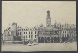 F17 Original Foto Ca. 1917 1. Weltkrieg Innenstadt Mosel Etappen-Kommandantur 136 Schwarzweiss - Krieg, Militär