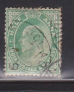 INDIA Scott # 78 Used - King Edward VII - India (...-1947)
