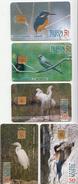 Hungary Phonecards, Set Of 5 With Birds - Zonder Classificatie
