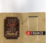 1955 CALENDARIO FRANCK - Formato Piccolo : 1941-60