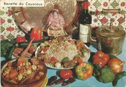V956 Recette De Couscous - Ricetta Recipe / Non Viaggiata - Ricette Di Cucina