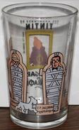 Ancien Verre à Moutarde  TINTIN   Les Cigares Du Pharaon De 1994 - Advertising