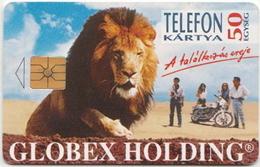 Hungary Phonecard With Lion - Telefoonkaarten
