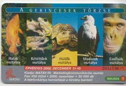 Hungary Phonecard With Animals - Telefoonkaarten