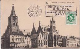 Lb 11 : Belgique : DIXMUDE  Garnd  Place   ( Timbre) Orval - Belgique
